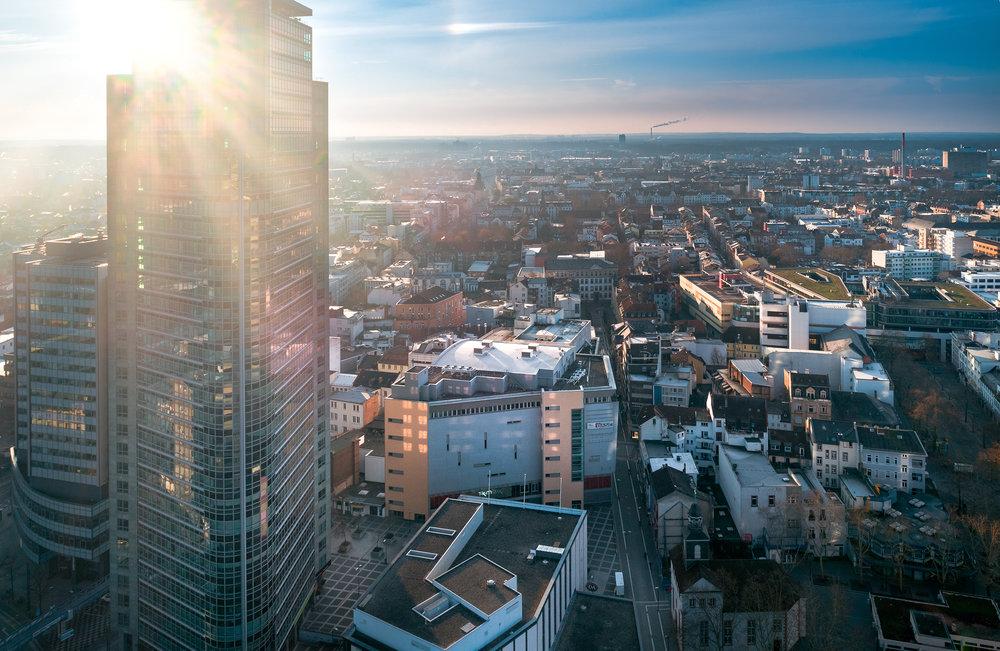 Offenbach Luftaufnahme Drohne