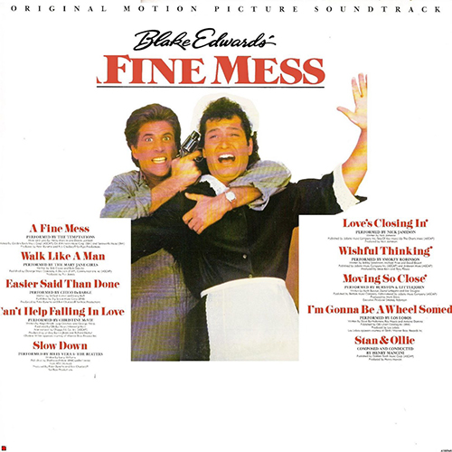 Billy Vera and the Beaters Fine Mess Soundtrack Various