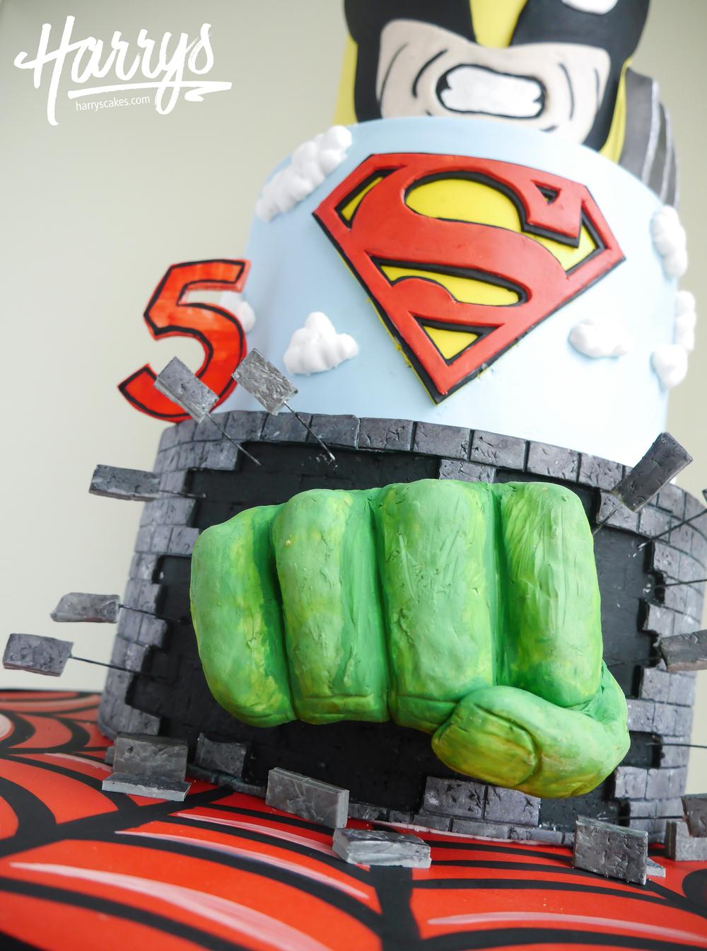 superhero harrys cakes