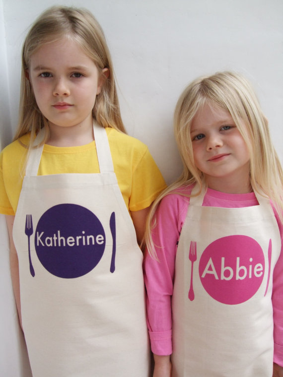 Personalized Aprons from LittleChook