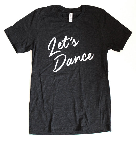 Let's Dance Tee by Last Coast, adult sizes