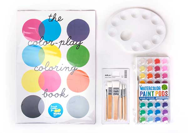 paint book gift