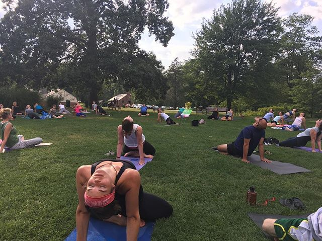 See you in Elizabeth Park for free yoga tonight with Karla!  5:30pm 🌲🌳🌲🌳🌲 Visit vasutribe.com for more information
