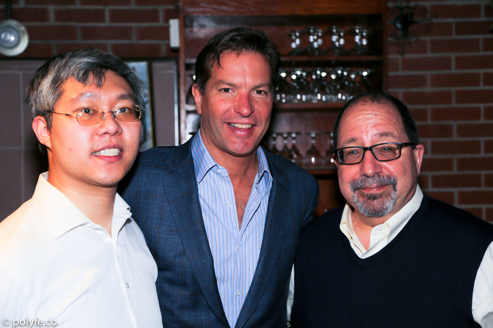 Alvin Y.H. Cheung,  Andrew Duncan, and USALI Executive Director Ira Belkin