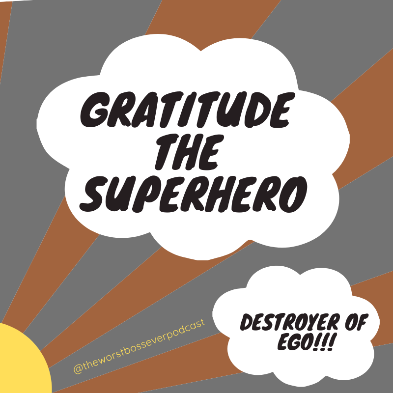 BONUS EPISODE: GRATITUDE - We are taking a break for the holidays but still wanted to offer something really great to talk about… GRATITUDE in the workplace. And as a special treat, author Cyndie Spiegel reads from her new book,