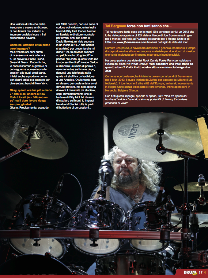 Drum Club feb 2013 Tal Bergman page 2
