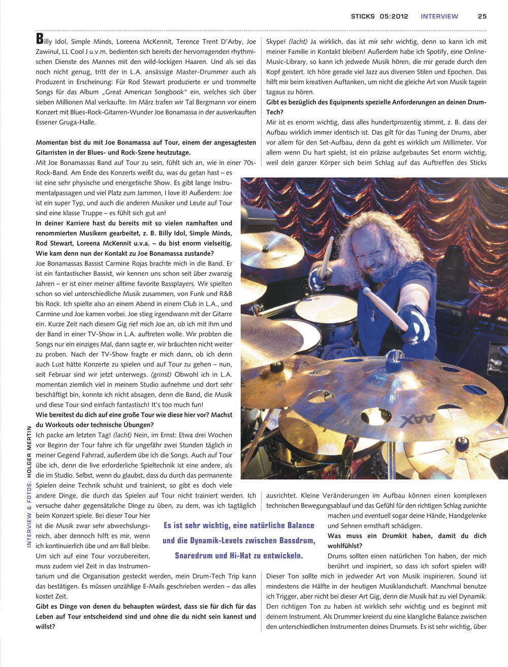 Sticks Magazin 2012 page 2