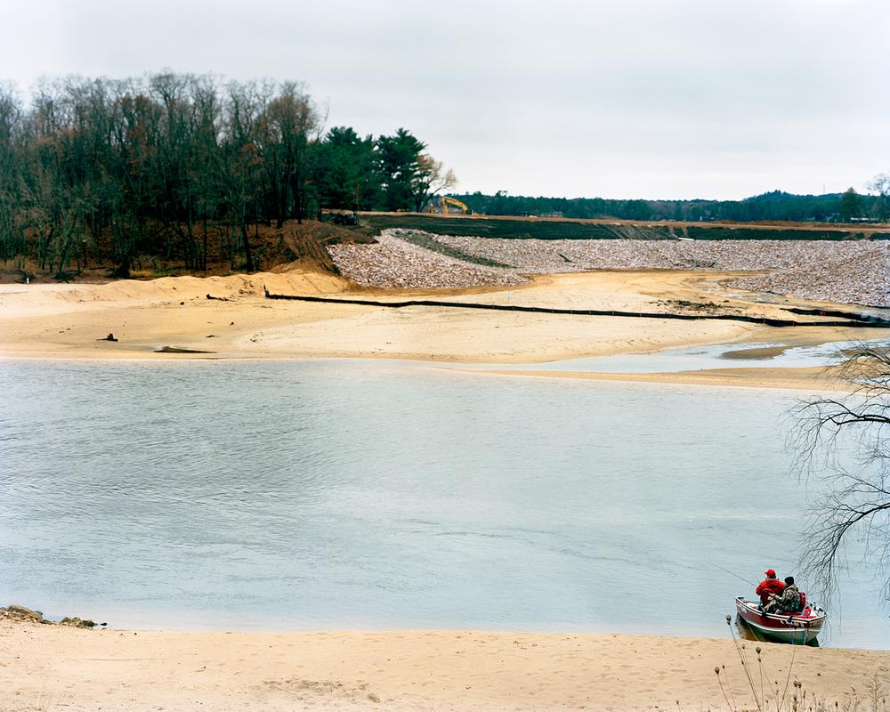 Fishermen, Wisconsin River. Wisconsin Dells, Wisconsin
