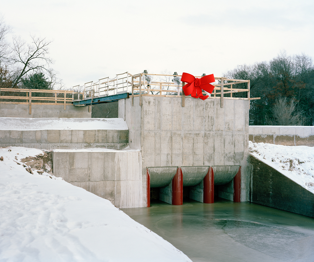 Ceremony for New Dam, Lake Delton, Wisconsin