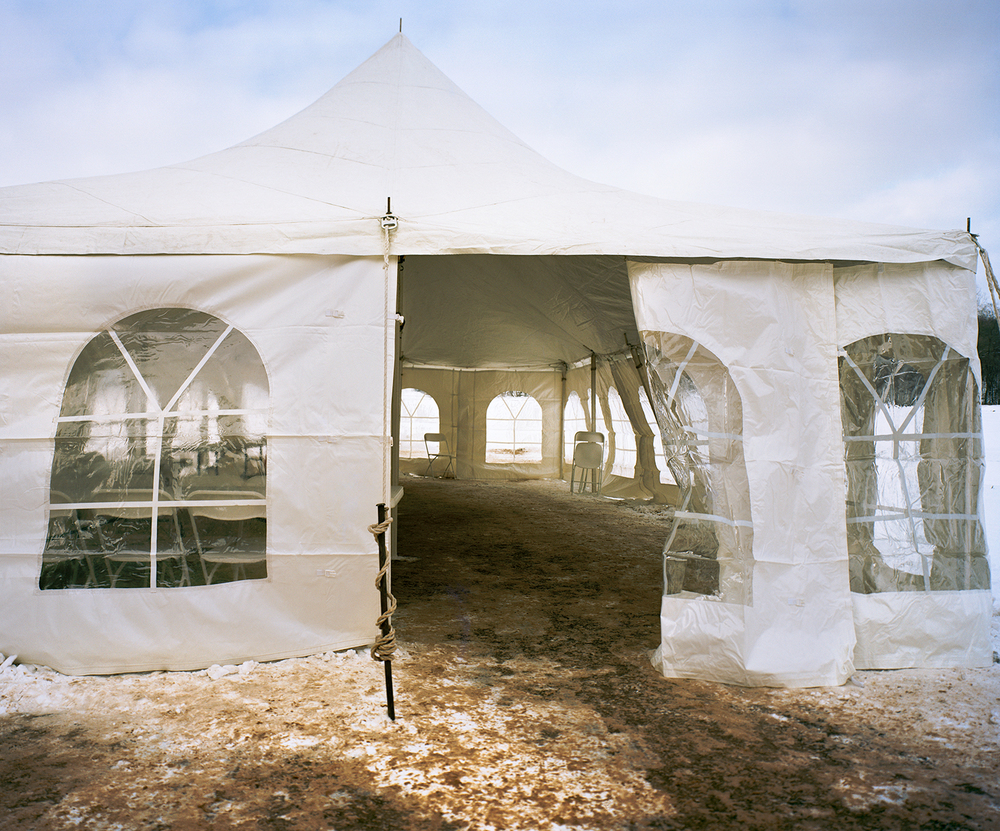 Tent, Ceremony for New Dam, Lake Delton, Wisconsin