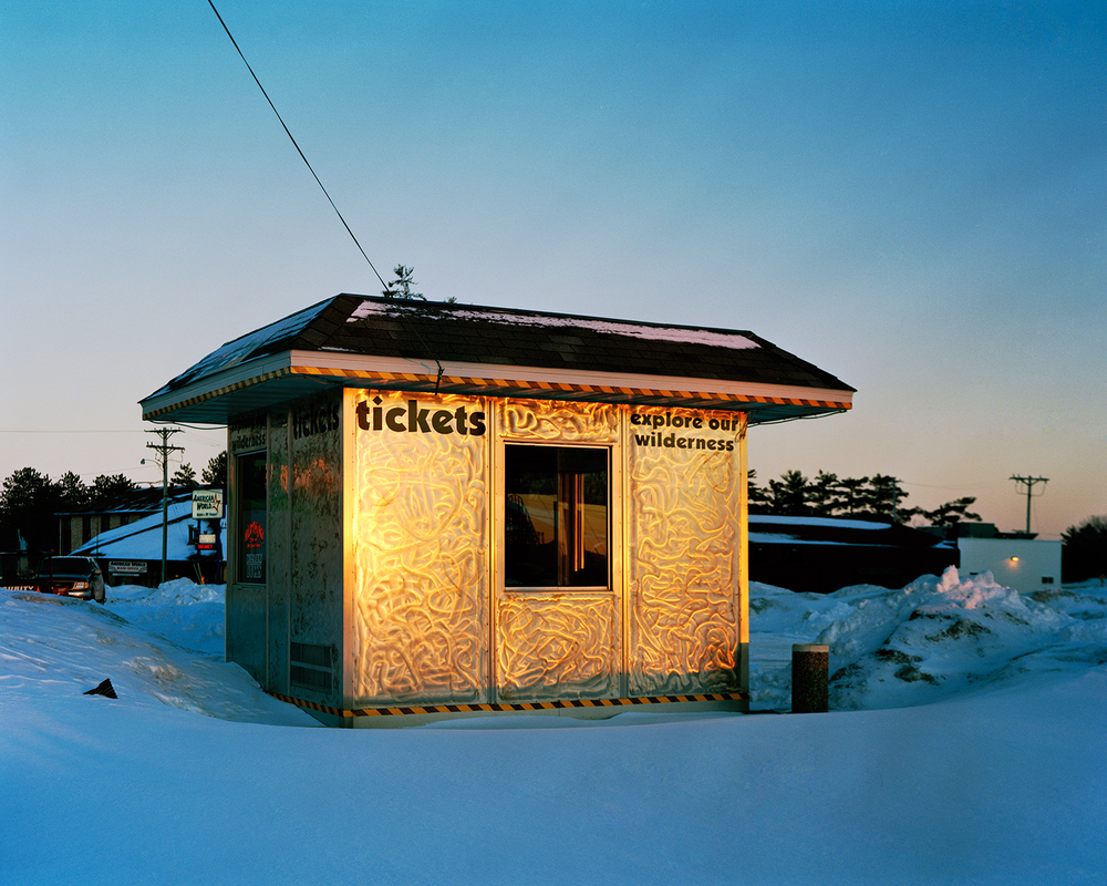 Ticket Booth (closed for season), Wisconsin Dells, Wisconsin