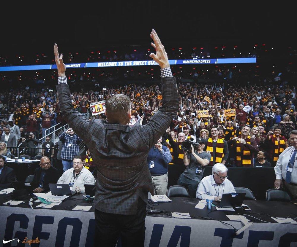 Image courtesy    Loyola University Chicago Athletics