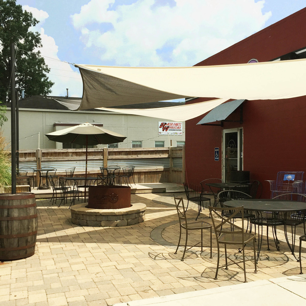 Patio and Biergarten