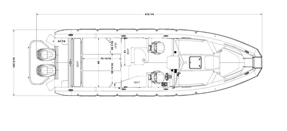 31FT Top Down Drawing - Click to enlarge