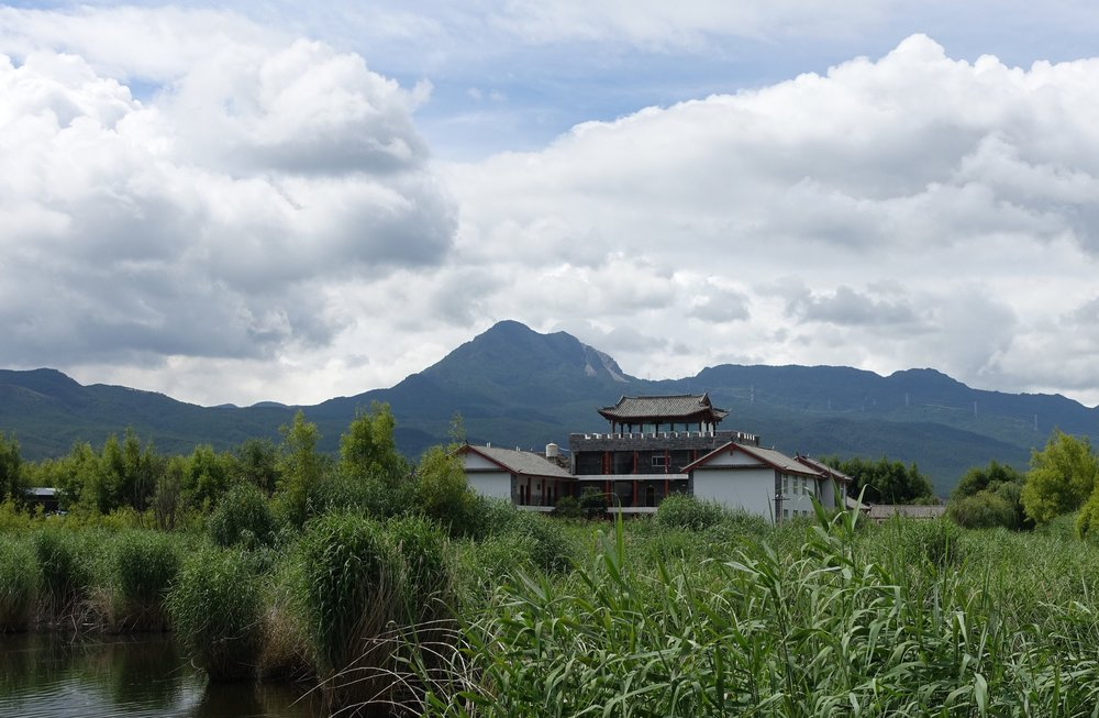 The GEC is conveniently located next to the Lashihai Wetland Reserve Bureau.