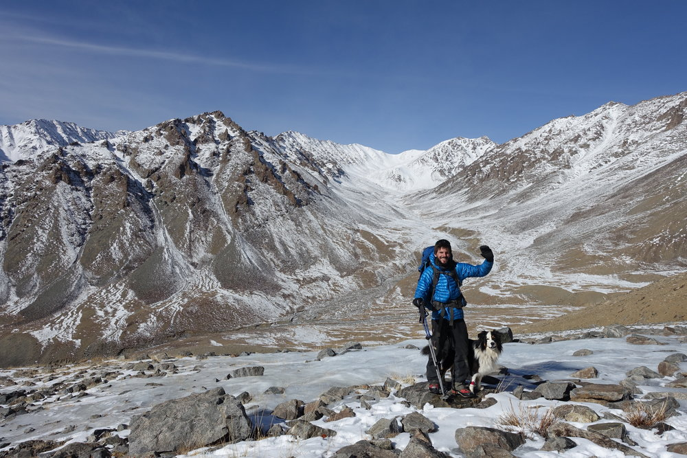 Trekking up to 5000m to find traces of glacial ice