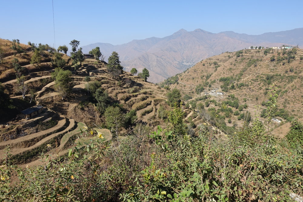 Villages of the foothills and mountains of Uttarakhand offer breathtaking views and numerous trekking opportunities.
