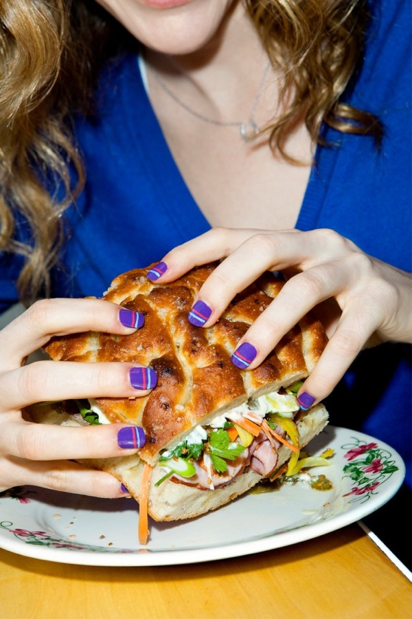 Spring nails trends food 5