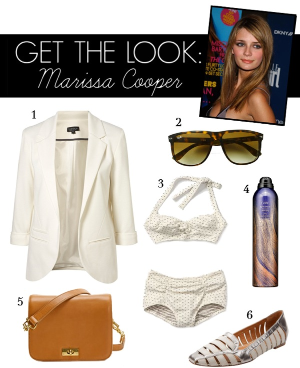 GET THE LOOK MARISSA COOPER