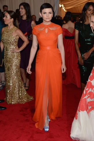 Ginnifer Goodwin in Monique Lhullier