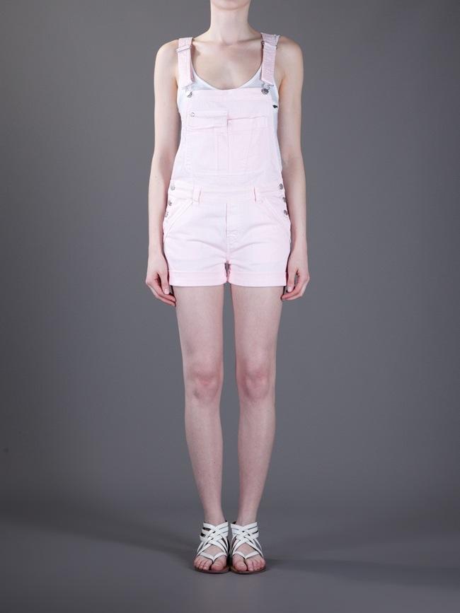 Vanessa Bruno Dungaree Shorts