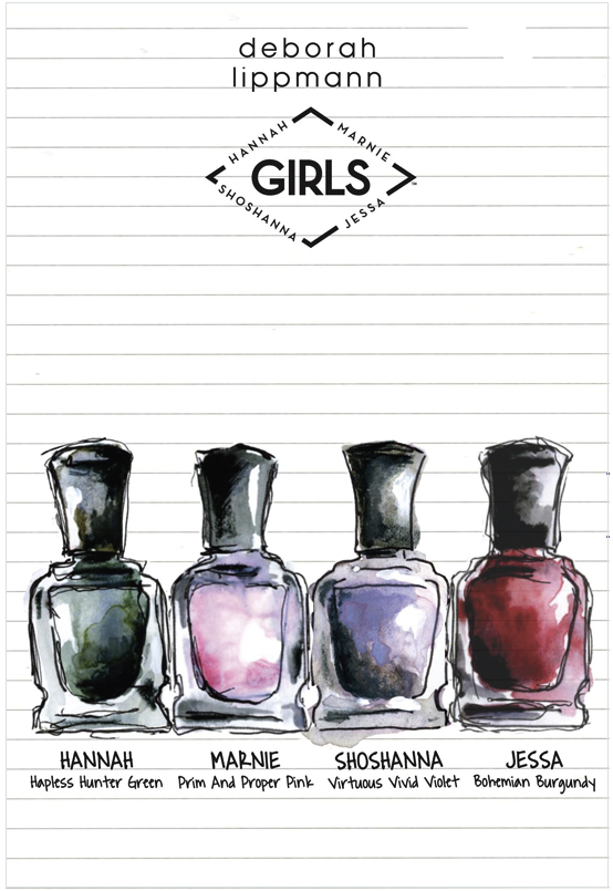 GIRLS x Deborah Lippmann