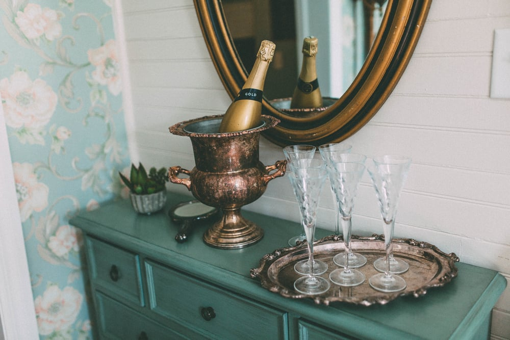 Up The Creek Farms, Palm Bay, Brevard County FL Wedding, bridal suite details