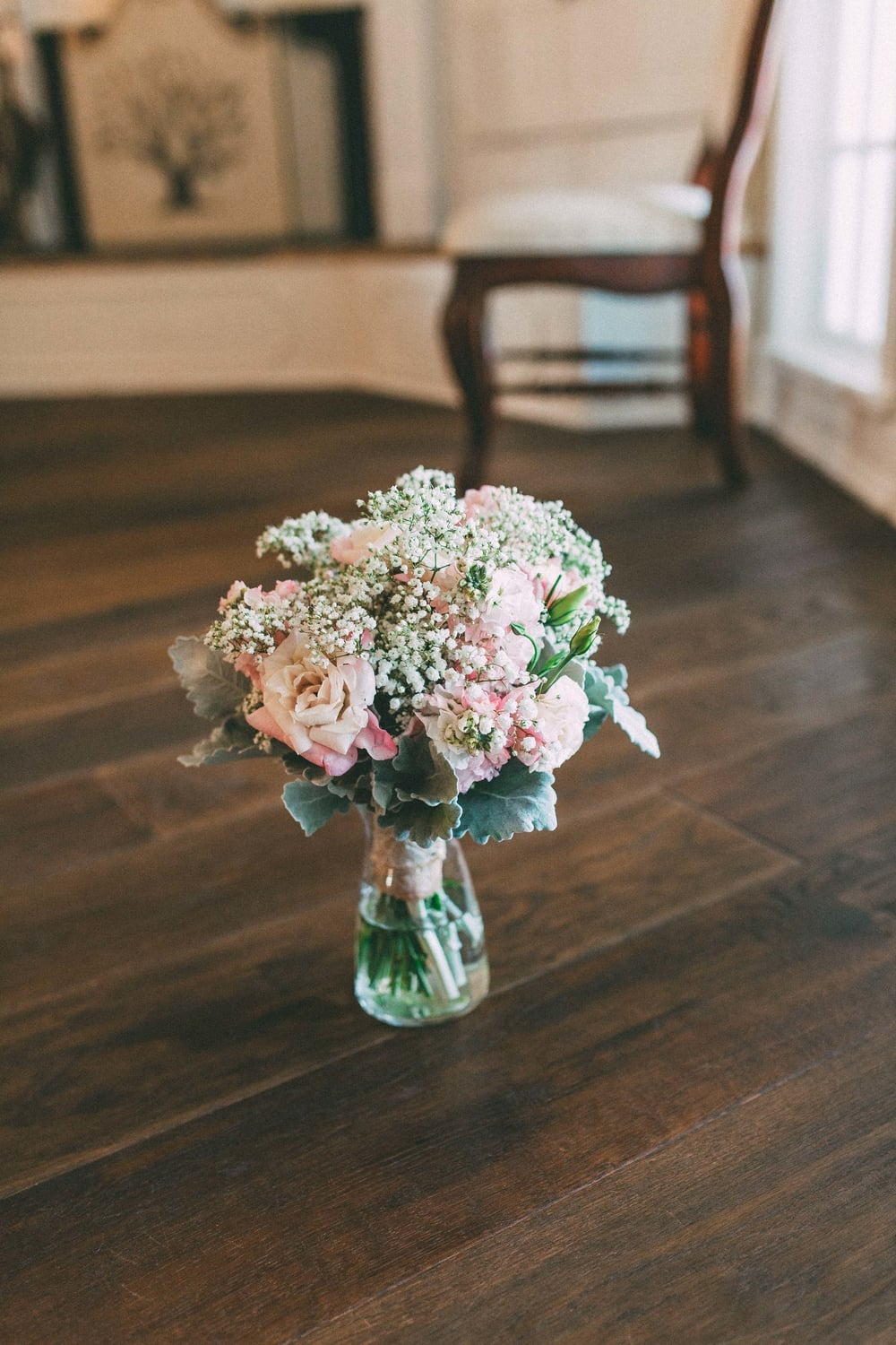 Up The Creek Farms, Palm Bay, Brevard County FL Wedding, bridal suite, flowers detail photo