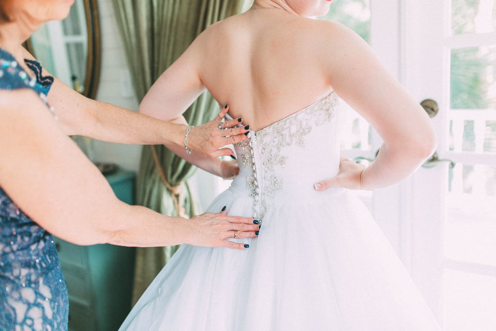 Up The Creek Farms, Palm Bay, Brevard County FL Wedding, bridal suite, bride getting ready photo