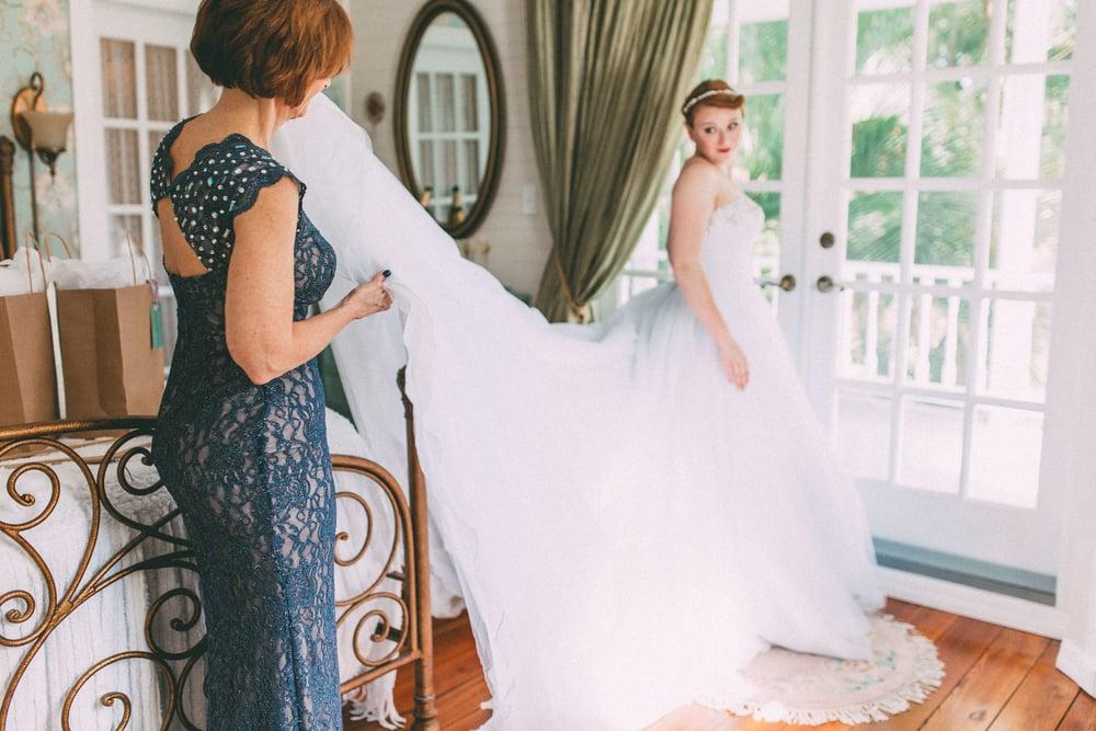 Up The Creek Farms, Palm Bay, Brevard County FL Wedding, bridal suite, wedding dress gown photo