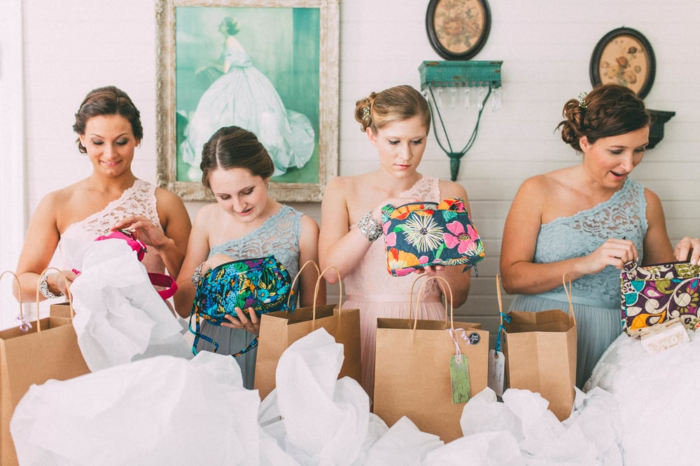 Up The Creek Farms, Palm Bay, Brevard County FL Wedding, bridal suite, bridesmaids gifts photo