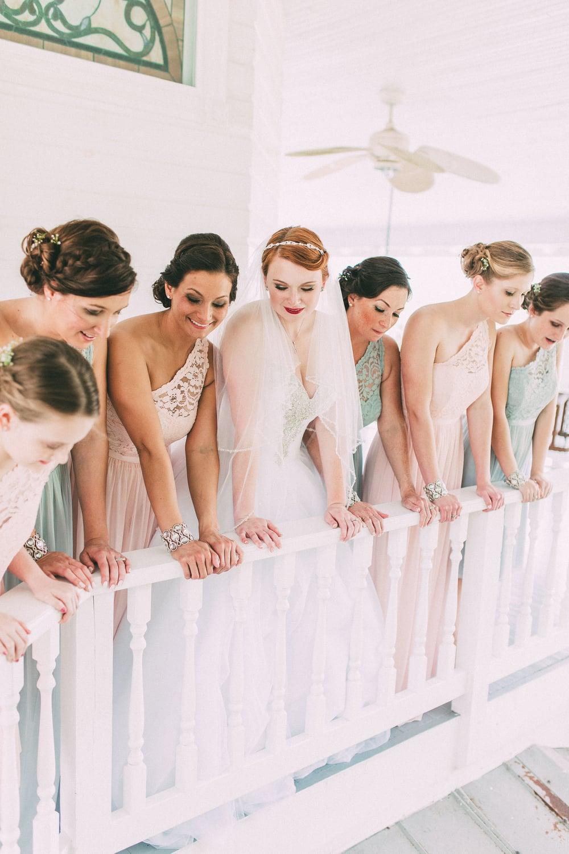 Up The Creek Farms, Palm Bay, Brevard County FL Wedding, bridal suite, bridesmaids photo