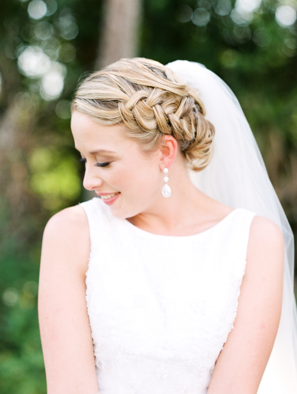 Sterling stables, brevard county FL wedding bride  photo