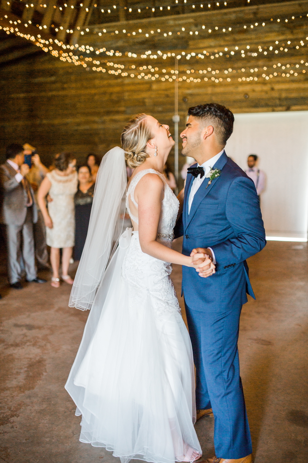 Sterling stables, brevard county FL wedding first dance photo