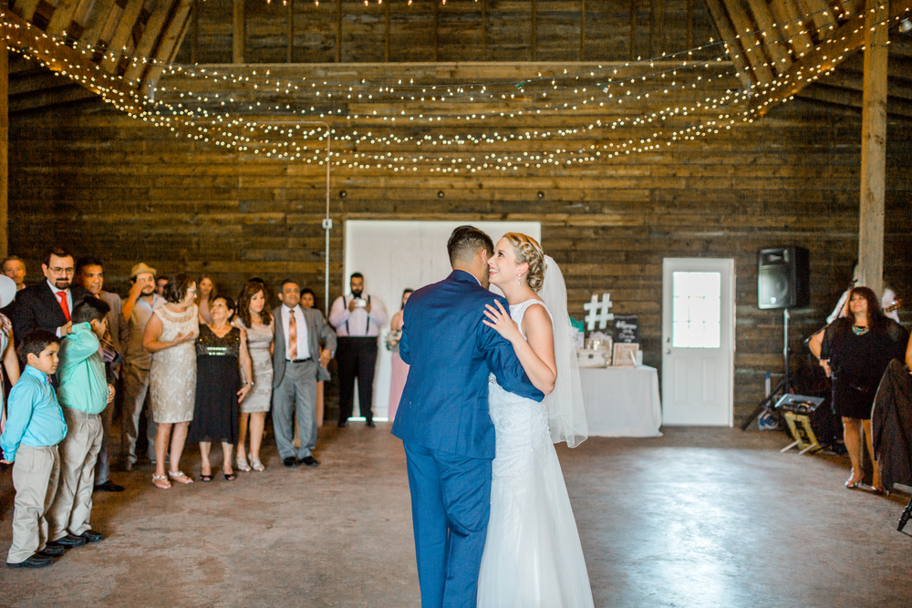 Sterling stables, brevard county FL wedding reception photo