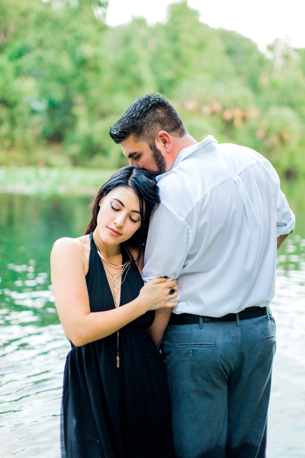 wekiva springs state park orlando florida engagement photo