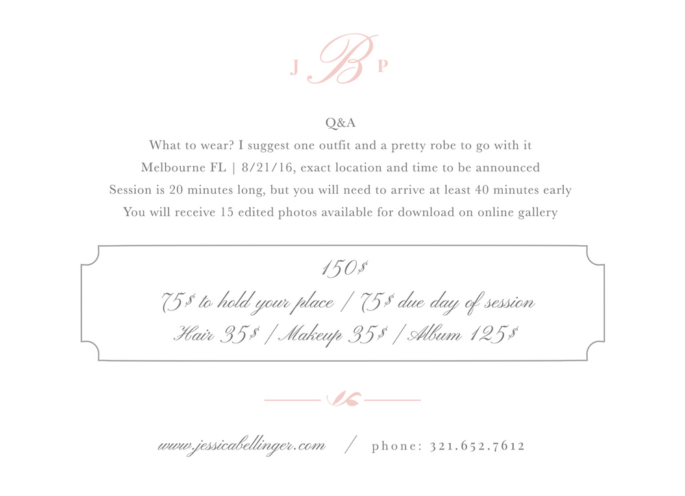 boudoir mini session melbourne fl, brevard county