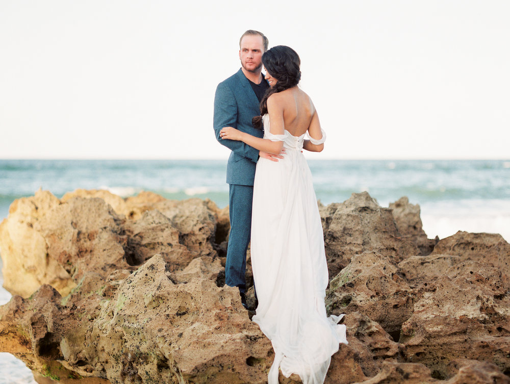 coral cove, jupiter beach FL, palm beach wedding photos
