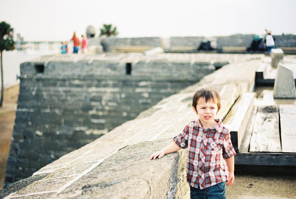 st augustine castillo de san marcos castle fort photo