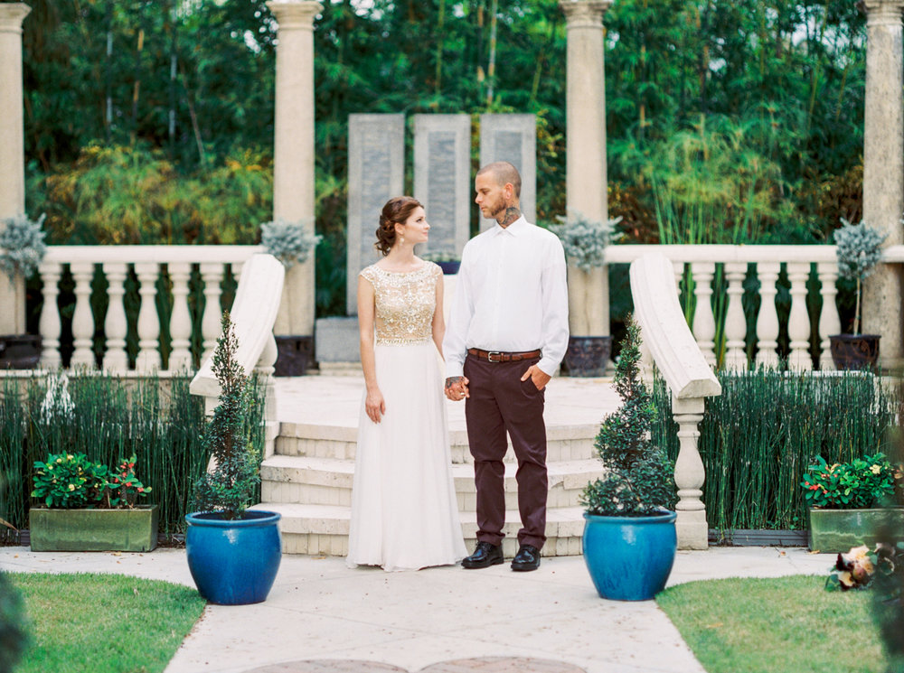 valkaria gardens palm bay FL wedding photos