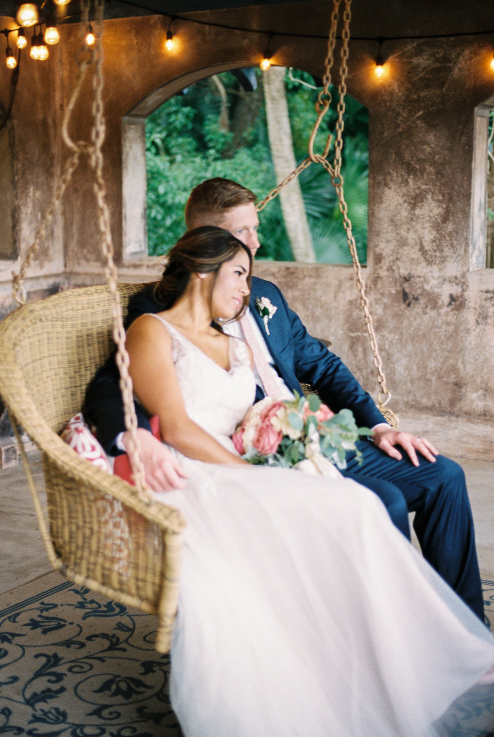 sydonie mansion mount dora orlando fl wedding photos boat house bride and groom
