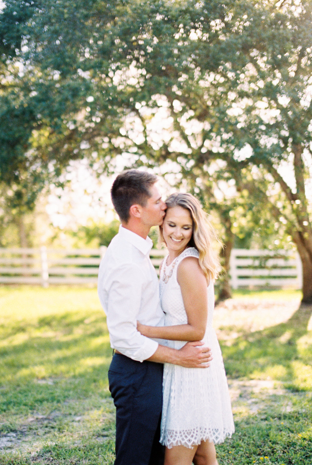 up the creek farms malabar fl engagement and wedding photos