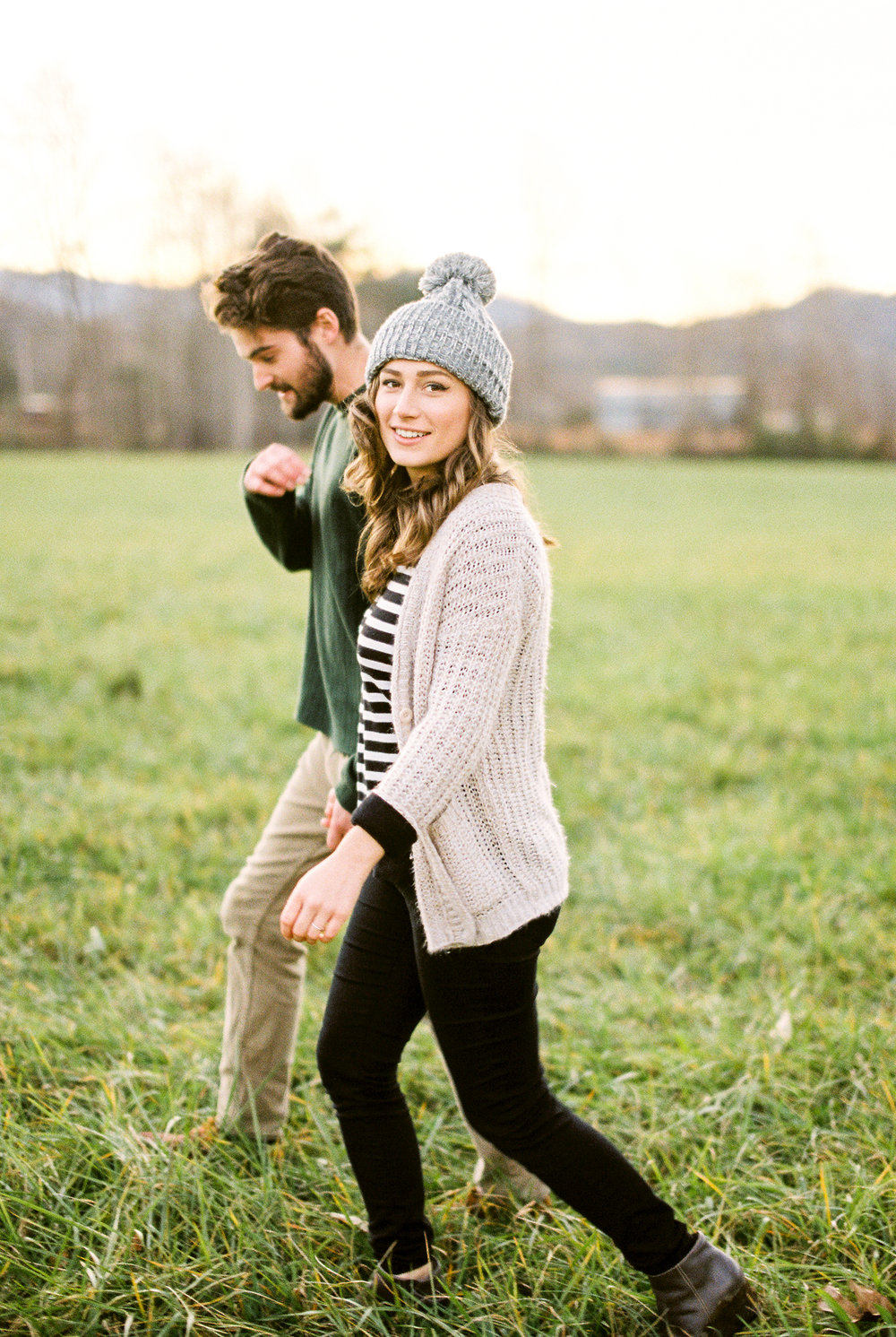 north georgia mountain engagement photos hiawassee jessica bellinger photography