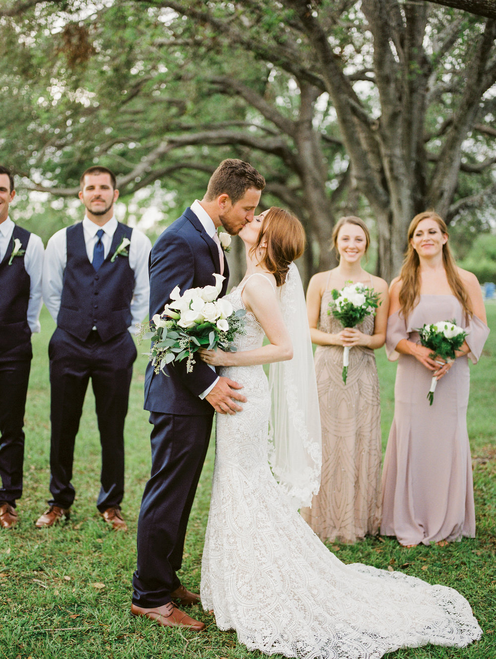 orlando florida wedding photos bridal party jessica bellinger photography