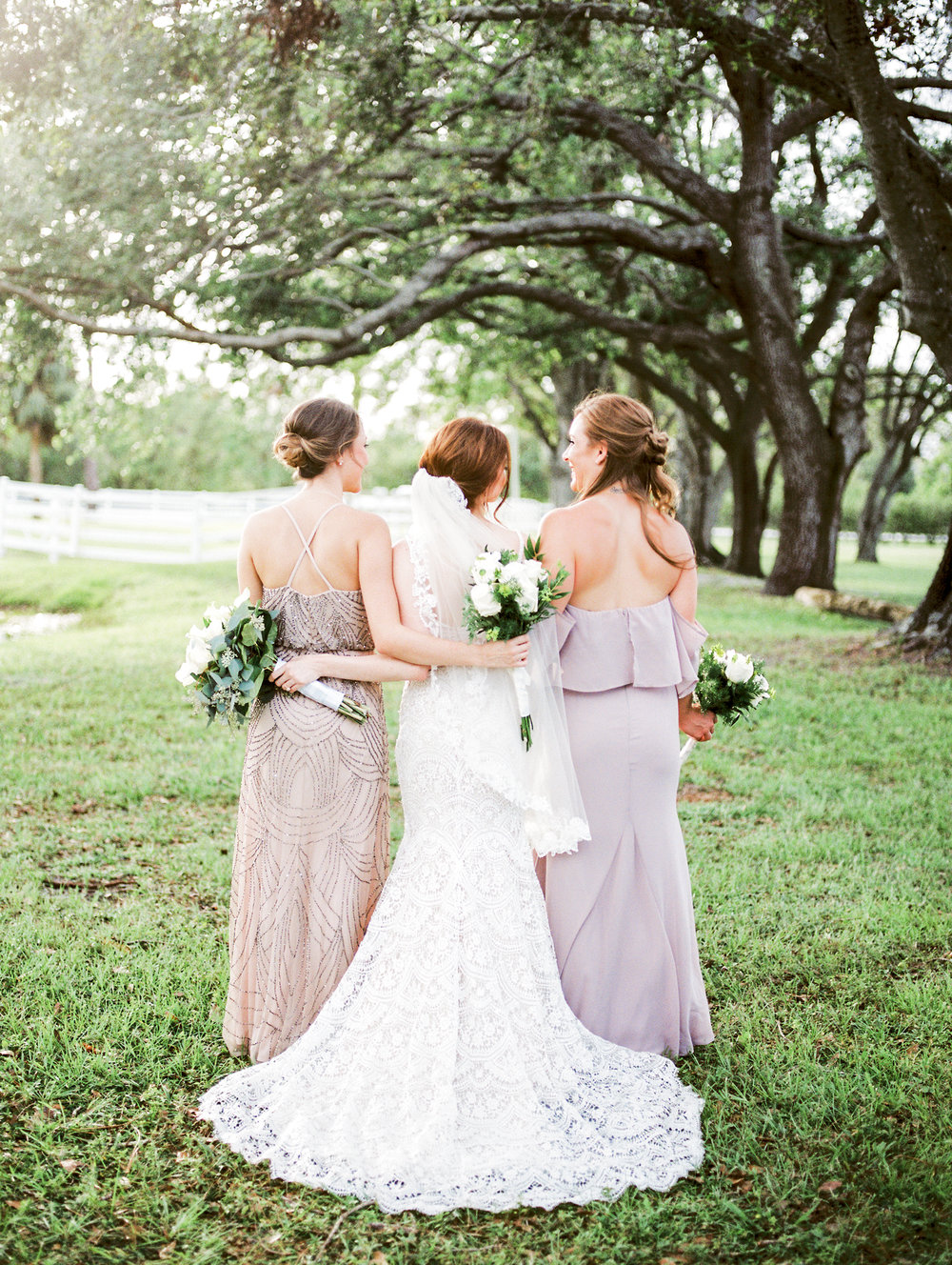 orlando florida wedding photos bridesmaids jessica bellinger photography