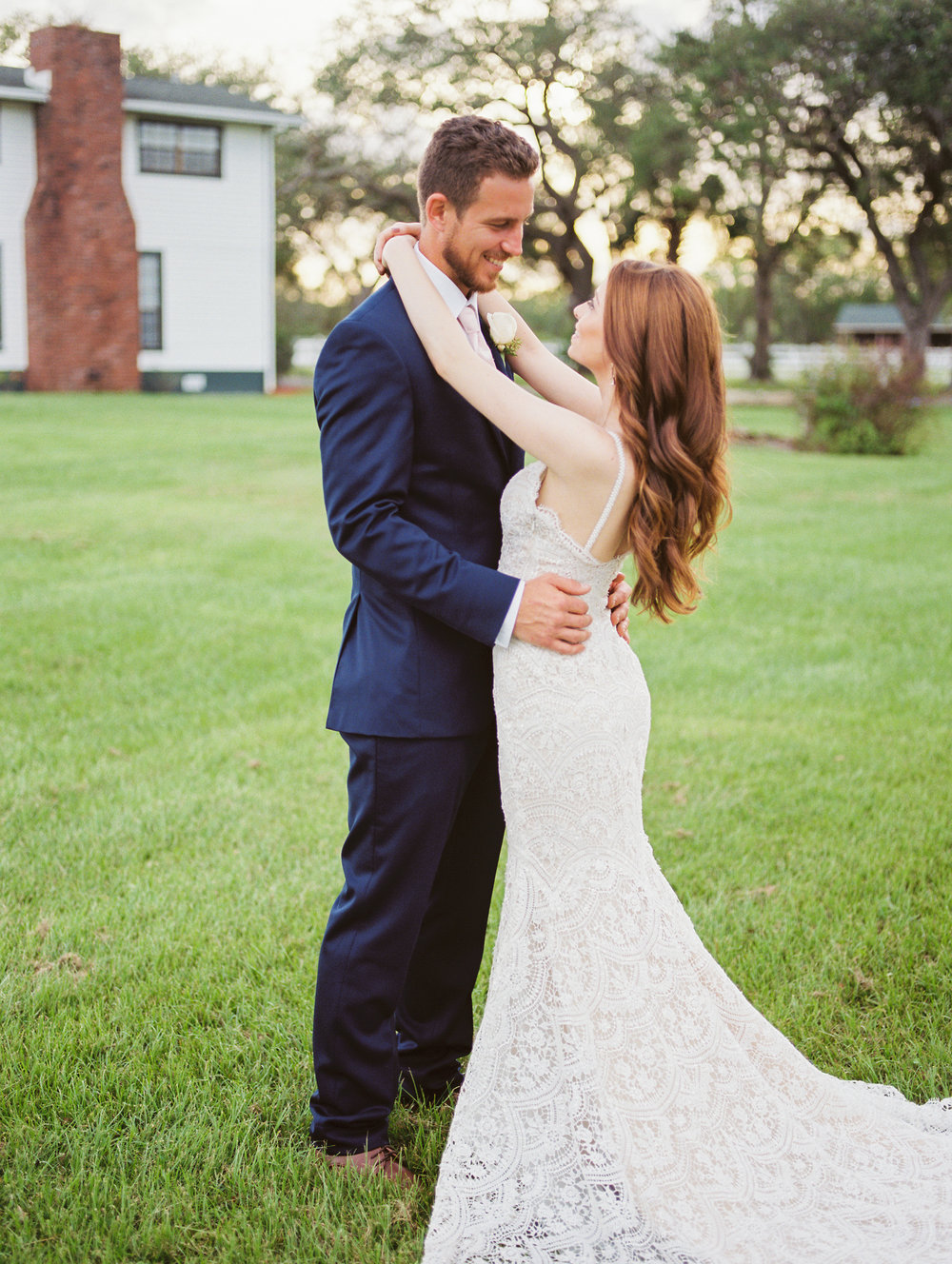 orlando florida wedding photos bride and groom at sunset jessica bellinger photography