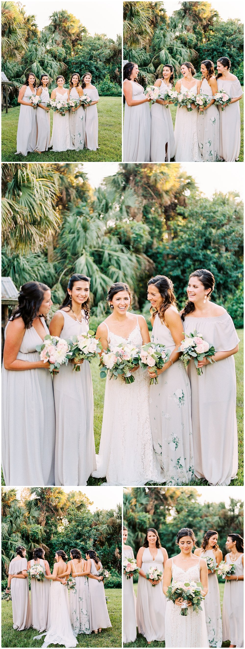 banyan estate malabar palm bay fl bridal party bridesmaids wedding photos