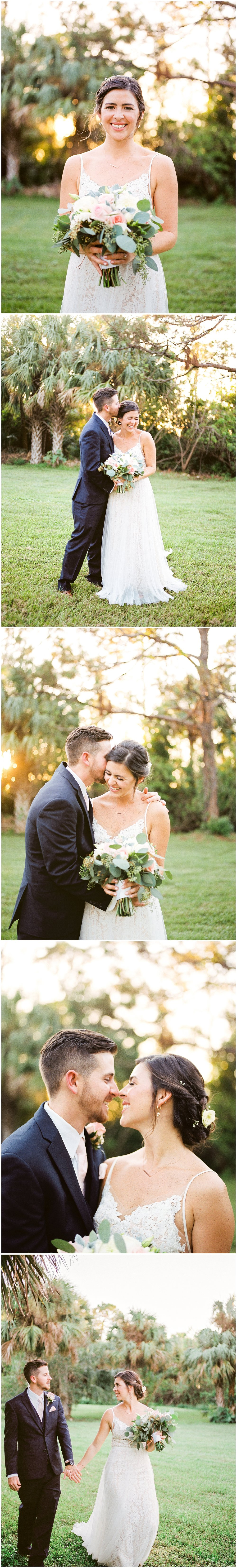 banyan estate malabar palm bay fl bride and groom wedding photos