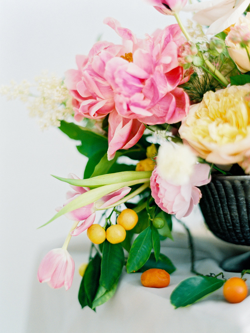 manhattan new york flowers wedding film fine art photos