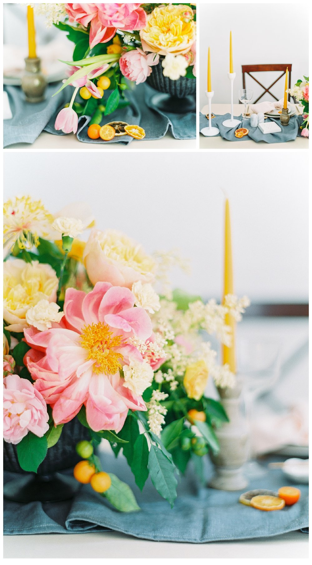 manhattan new york reception centerpiece flowers wedding film fine art photos